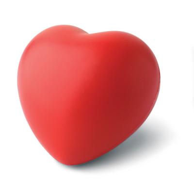 ANTI-STRESS HEART PU MATERIAL.
