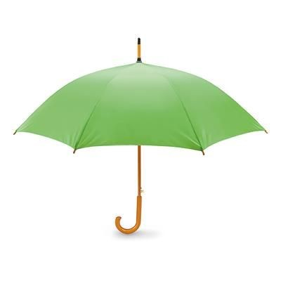 23 INCH UMBRELLA in Lime.