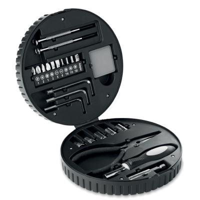 25 PIECE TOOL SET in Tyre Shape Box.