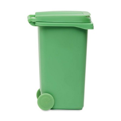 MINI GARBAGE CONTAINER in Green.