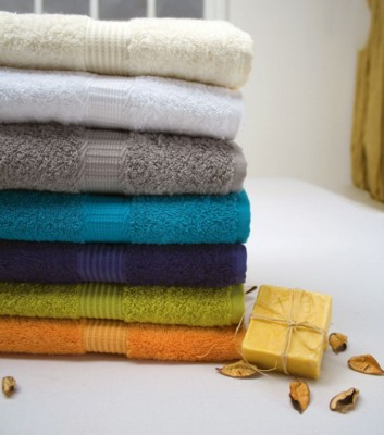 COTTON TERRY TOWEL.