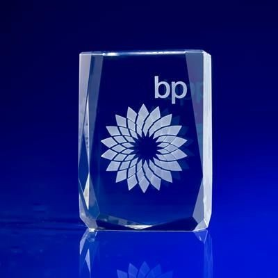 CRYSTAL GLASS CHAMONIX AWARD OR TROPHY AWARD.