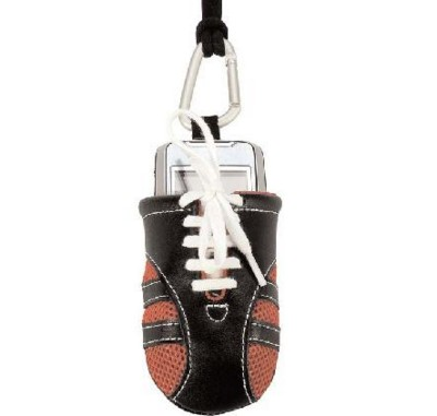 IPOD or MOBILE PHONE HOLDER SOCK FOOTBALL BOOT STYLE COVER.