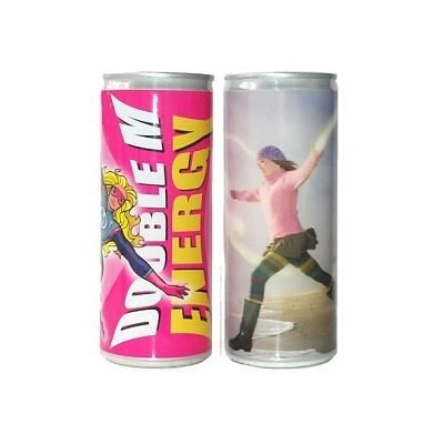 CUSTOM ENERGY DRINK CAN.