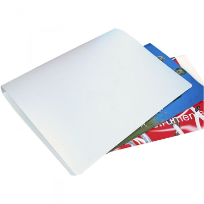 POLYPROPYLENE RING BINDER in Frosted White.