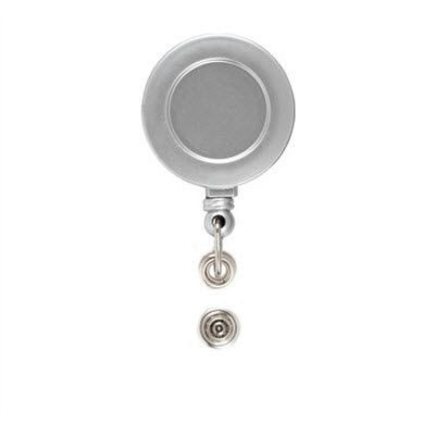 BADGE CLIP BADGE PASS HOLDER in Clear Transparent Black.