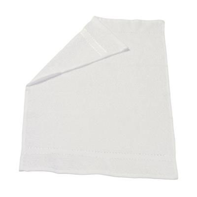 ATLANTIC GUEST TOWEL in White.