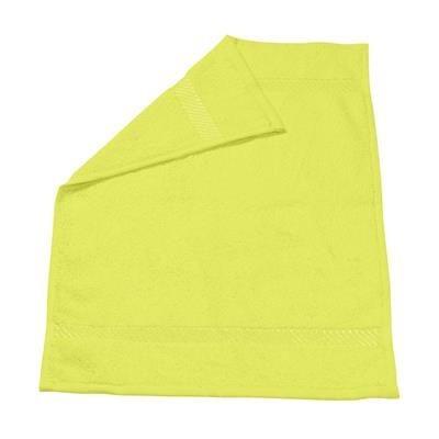 ATLANTIC GUEST TOWEL in Lime.