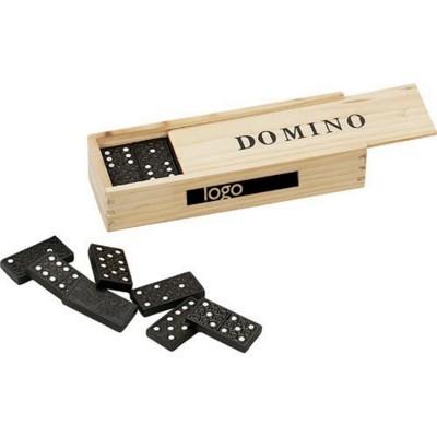 WOOD DOMINO GAME.
