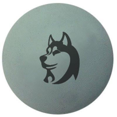 SOLID RUBBER DOG BALL.