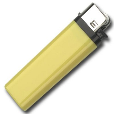 M3L DISPOSABLE FLINT LIGHTER in Yellow.