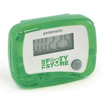 CARMEL PEDOMETER in Green.