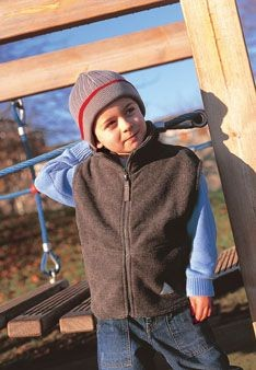 RESULT CHILDRENS ACTIVE FLEECE BODYWARMER.