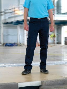 RTY POLY & COTTON CARGO TROUSERS.