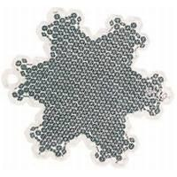 SNOWFLAKE SAFETY REFLECTOR.