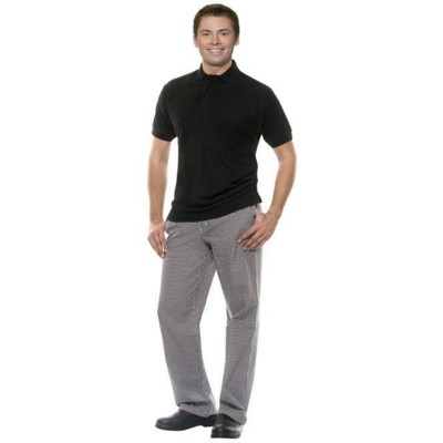 MAILAND CHEF TROUSERS in Black & White.