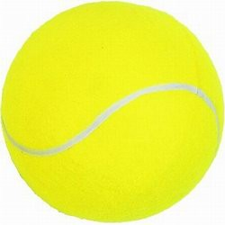 LARGE TENNIS BALL in Yellow.