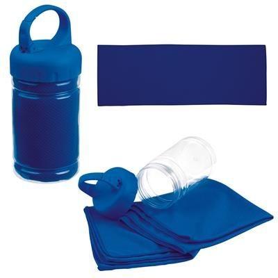 SPORTS TOWEL SPORTY in Blue.