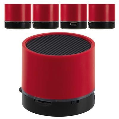 BLUETOOTH SPEAKER TAIFUN in Red.