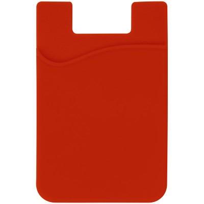 BORDEAUX SMART PHONE WALLET in Red.