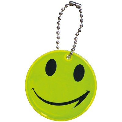 OAKLEY SMILEY SAFETY PENDANT REFLECTOR in Yellow.
