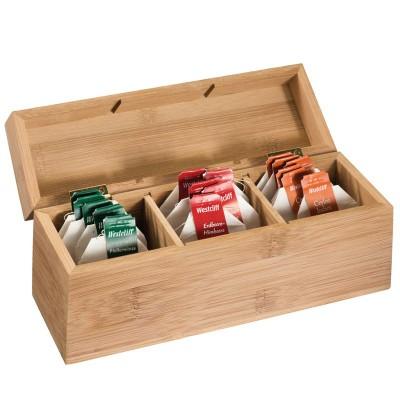 DAMASKUS TEA BOX in Brown.