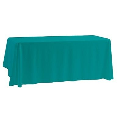 BRANDED PROMOTIONAL TABLE CLOTH.