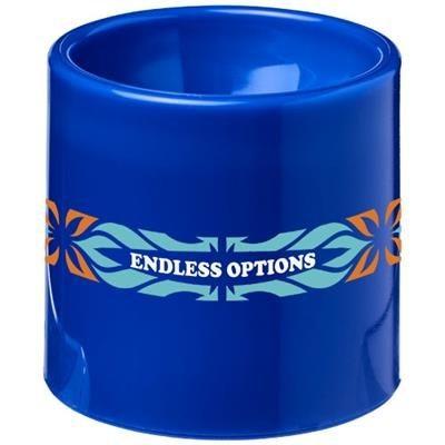 EDIE PLASTIC EGG CUP in Blue.