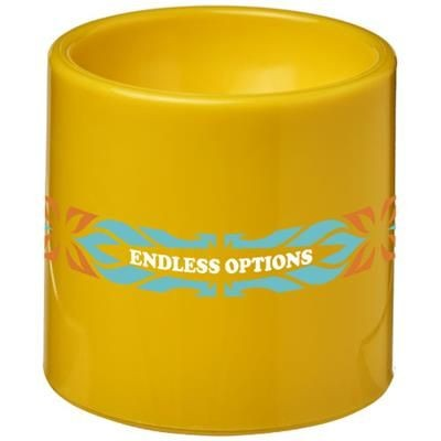EDIE PLASTIC EGG CUP in Yellow.