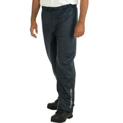 HELLY HANSEN VOSS WATERPROOF TROUSERS in Black.
