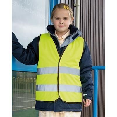 RESULT CORE JUNIOR SAFETY VEST.