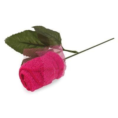 ROSE SHAPE TOWEL.
