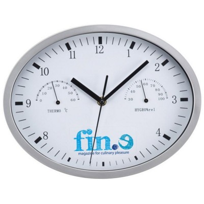 WALL CLOCK in White.