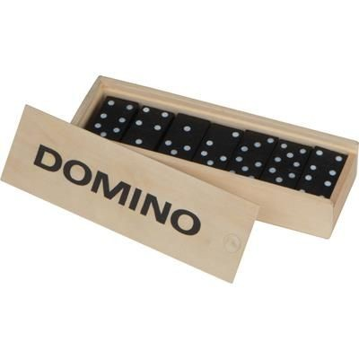 DOMINO GAME in Wood.