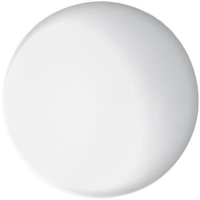 ANTI STRESS SQUEEZE BALL in White.