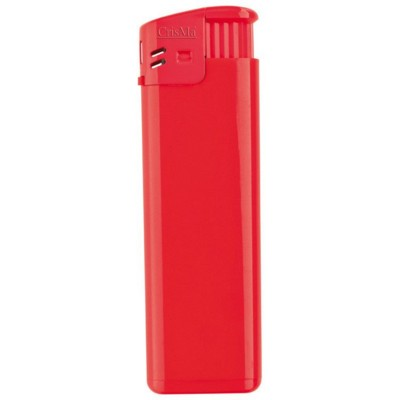 ELECTRONIC REFILLABLE POCKET LIGHTER in Red.