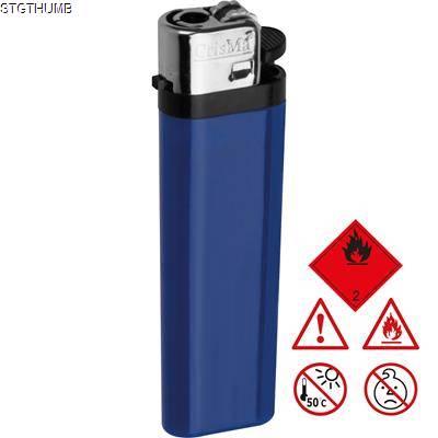 DISPOSABLE POCKET LIGHTER in Blue.