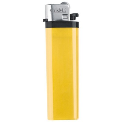 DISPOSABLE POCKET LIGHTER in Yellow.