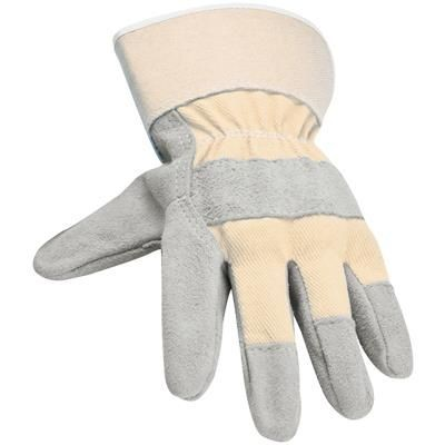 WORKING GLOVES in Beige.