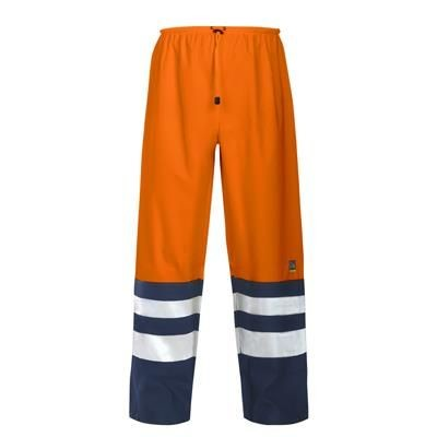 PROJOB HIGH VISIBILITY REFLECTIVE SAFETY RAIN TROUSERS.