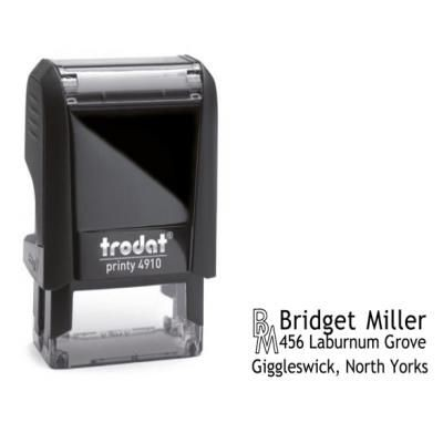 PRINTY 4910 SELF INKING STAMP.
