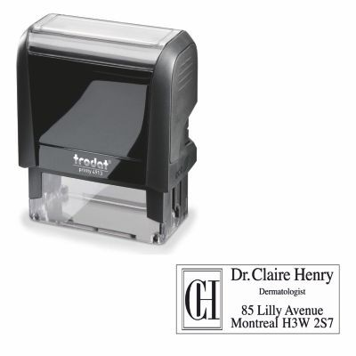 PRINTY 4913 SELF INKING STAMP.