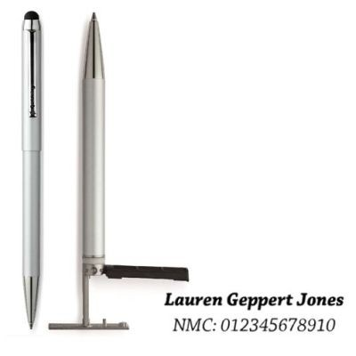 SILVER GOLDRING SMART STYLE PEN STAMP.