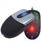 USB OPTICAL COMPUTER MOUSE with Flashing Light Scrolling Wheel.