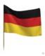 GERMAN TABLE FLAG.
