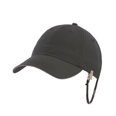 MUSTO CORPORATE FAST DRY CAP in Black.