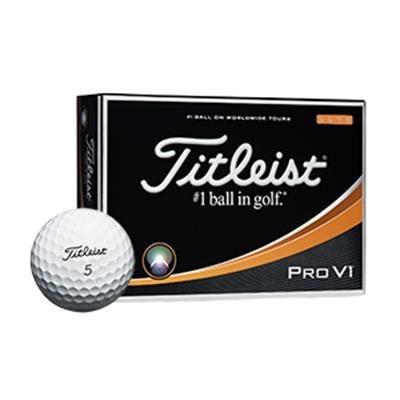 TITLEIST PRO V1 HIGH NUMBER GOLF BALL.