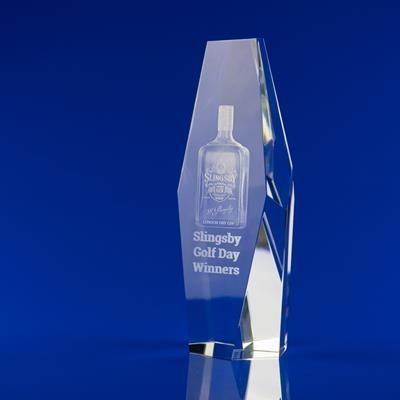 BESPOKE TROPHY AWARD in Crystal Glass.
