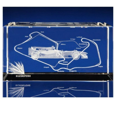 F1 FORMULA ONE GIFT IDEAS, AWARDS & PAPERWEIGHTS in Crystal.