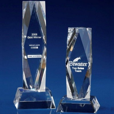 CRYSTAL GLASS PRESIDENT AWARD OR TROPHY AWARD.